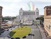 Il passaggio delle Frecce Tricolori (Jpeg)