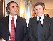Riccardo Muti con il sindaco Alemanno (Omniroma)