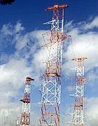 Le antenne di Radio Vaticana a Cesano (foto Ansa)
