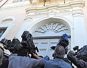 L'esterno del Tribunale di Tivoli (Ansa)