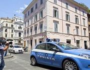 L'agolo dove è stato pestato Alberto Bonanni (Foto Proto)