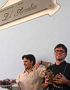 I fratelli Mario e Daniele animano il ristorante Zi' Amalia