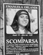 I manifesti denunciano la scomparsa della Orlandi (Ansa)