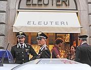 Il negozio di via Condotti (foto Proto)