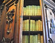 Uno degli armadi dell'Archivio Segreto Vaticano