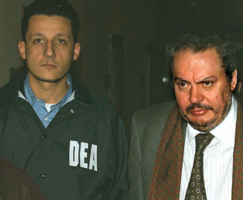 Nicoletti in occasione di un precedente arresto
