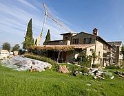 L'ex convento dei Cappuccini in fase di restauro