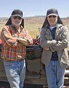 Lucas e Spielberg insieme sul set