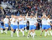 L'addio al Flaminio il 12 marzo scorso, dopo aver battuto la Francia (Lapresse)