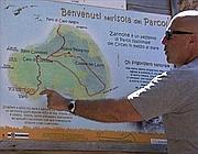Il presidente del parco del Circeo Benedetto guida la visita a Zannone