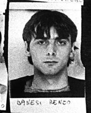 Renzo Danesi ai tempi del primo arresto (Proto)
