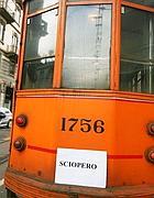Tram in sciopero a Milano (Milestone)