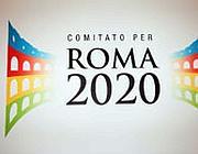 Il logo di Roma 2020