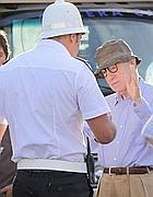 Allen sul set dà consigli a Marchion (foto Jpeg)