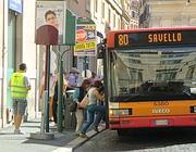 Fermata in via di San Claudio (foto De Leo)