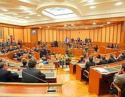 Una seduta del Consiglio regionale del Lazio(Ansa)