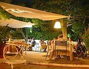 I tavoli de «Il Giardino»