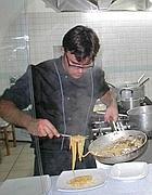 Mario Curcio, chef a Ventotene (Zanini)