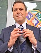 Il presidente del Consiglio regionale del Lazio Mario Abruzzese