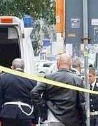Il luogo del tragico incidente in cui è morto l'anziano di Torno (foto Ansa)