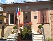 L'ingresso del Comune di Filettino (foto Paolo Conti)