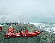 Poche presenze in spiaggia e sul Litorale (Lapresse)