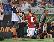 Totti va in panchina (Inside)