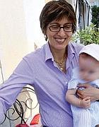 L'avvocato Giulia Bongiorno con il figlio Ian