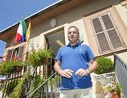 Luca Sellari, sindaco di Filettino (Ansa)