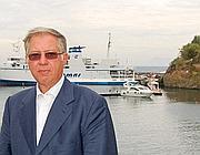 Il sindaco di Ventotene Geppino Assenso