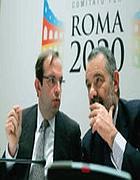 Aurelio Regina e Andrea Mondello al Comitato Roma 2020
