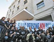 La protesta dei dipendenti Alenia (Jpeg)