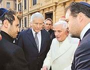 La visita di Benedetto XVI in Sinagoga nel 2010