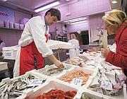I banchi del pesce al mercato Trionfale (Eidon)