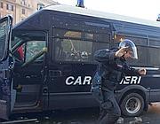 Il carabiniere in fuga (Ansa)
