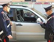 I rilievi dei carabinieri (foto Proto)