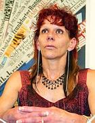 Muguette Baudat, madre di Cedric Tornay (Ansa)