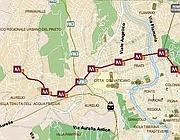 Il percorso della linea 916