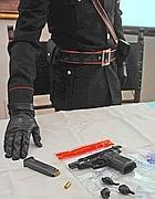 Armi recuperate nell'operazione Orfeo (Proto)