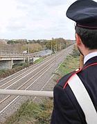 Il viadotto che passa sulla Roma-Lido (foto Faraglia)