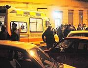 Carabinieri e ambulanza sul luogo dell'agguato (Proto)