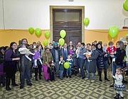 La festa al Policlinico con i genitori dei bimbi nati prematuri