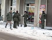 Neve anche in città a Viterbo (Milestone)