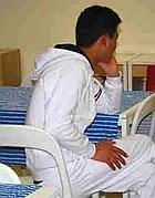 Un giovane afghano ospite della struttura «A28»