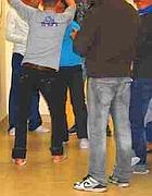 Giovani rifugiati nella struttura «A28 Centre»