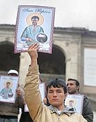 Manifestazione di afghani in Campidoglio (Eidon)