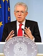 Il premier Monti (Imagoeconomica)