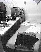 Casa e ufficio: il letto del radiologo al San Camillo