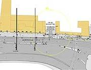 Una sezione del progetto approvato dal Comune