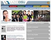 L'homepage del sito di Laziodisu